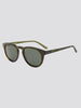 TIMELESS TRANSPARENT GREEN SUNGLASSES