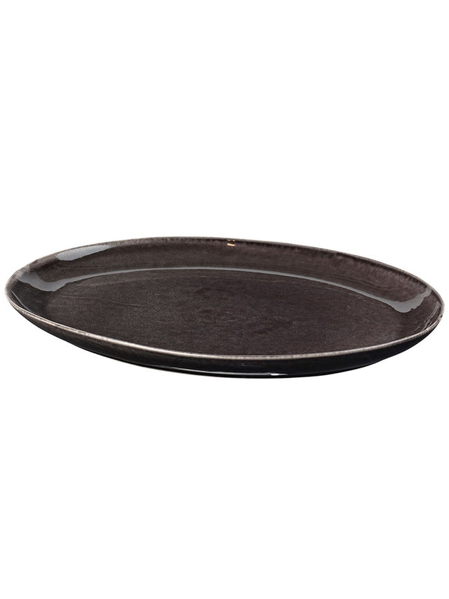 XL OVAL PLATTER - NORDIC COAL