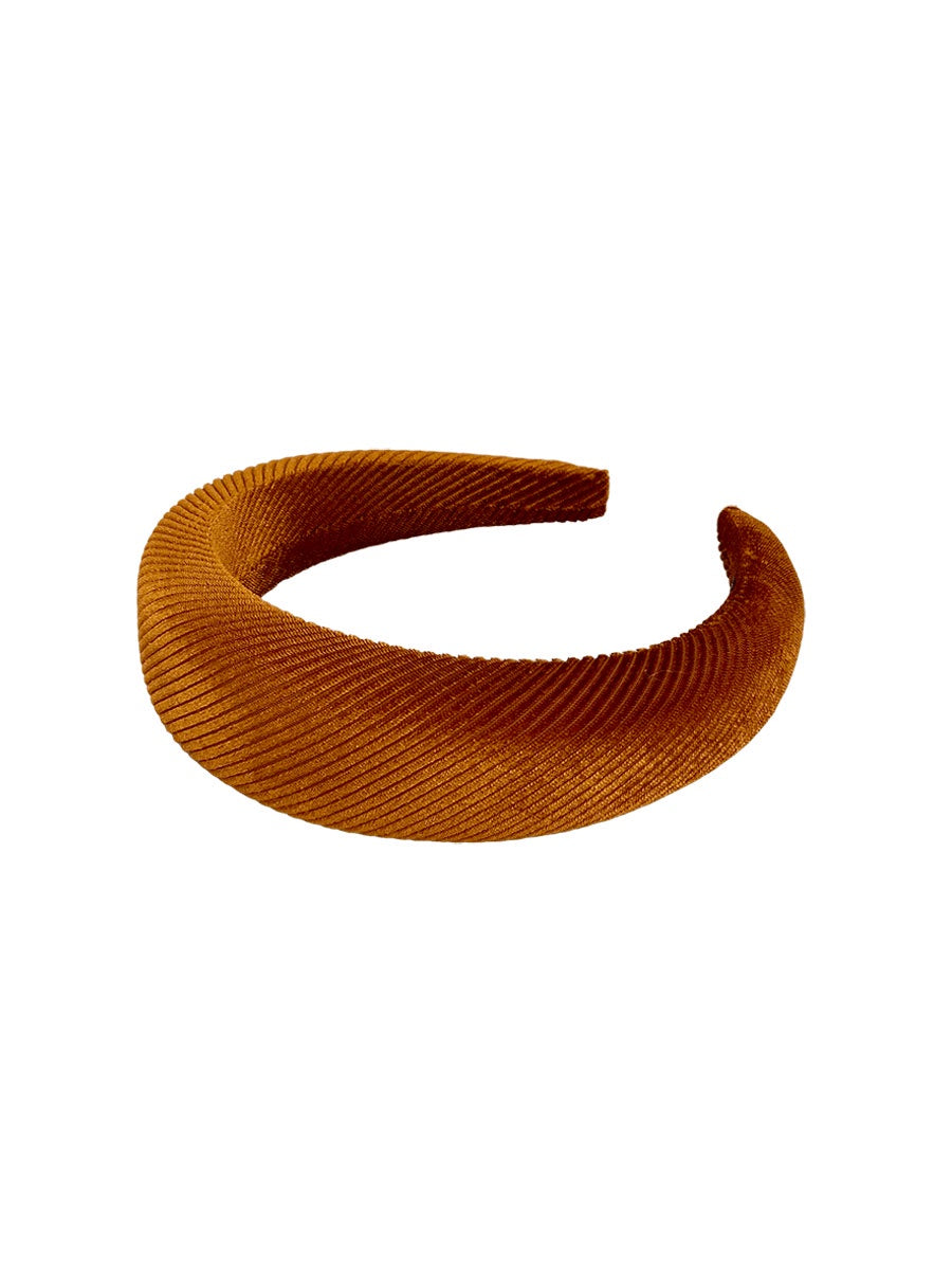 KATE CHUNKY HEADBAND - CAMEL