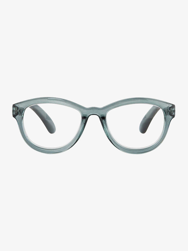LIVA READING GLASSES - TRANSPARENT GREY