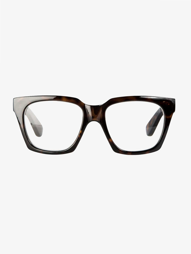 YRSA READING GLASSES - TURTLE BROWN
