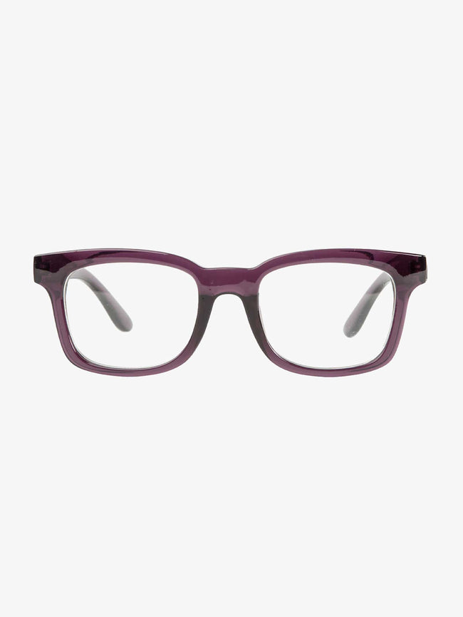 NICOLE READING GLASSES - DARK PURPLE