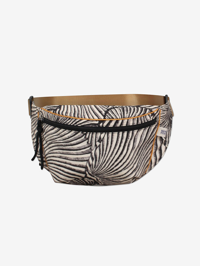 KIVA BELT BAG - BLACK TIGER SHELL