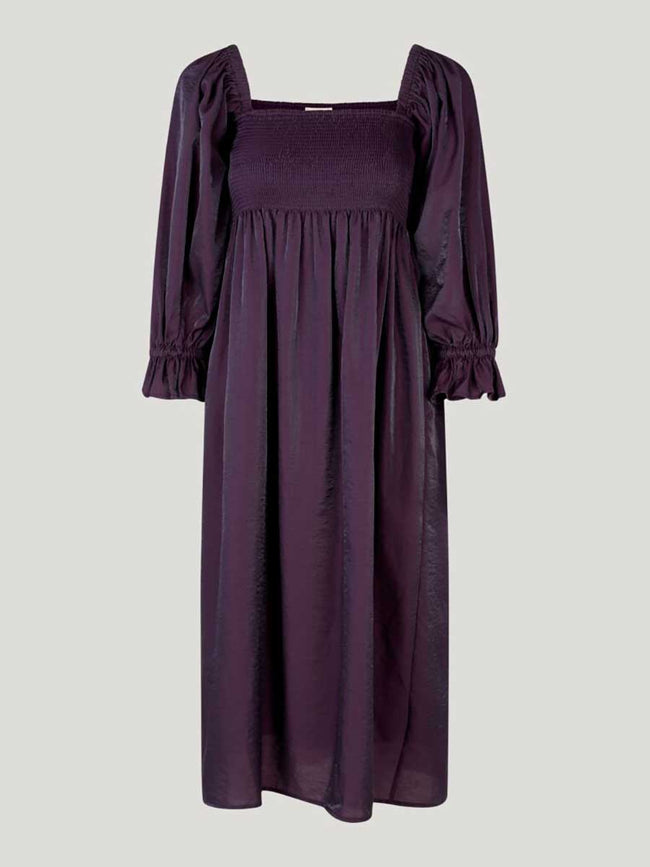 ADANNA DRESS - PLUM PERFECT