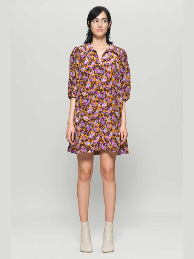 AVAGAIL MINI DRESS - PARIS FLOWER SUNS