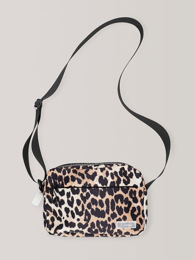 TECH FABRIC BAG - LEOPARD