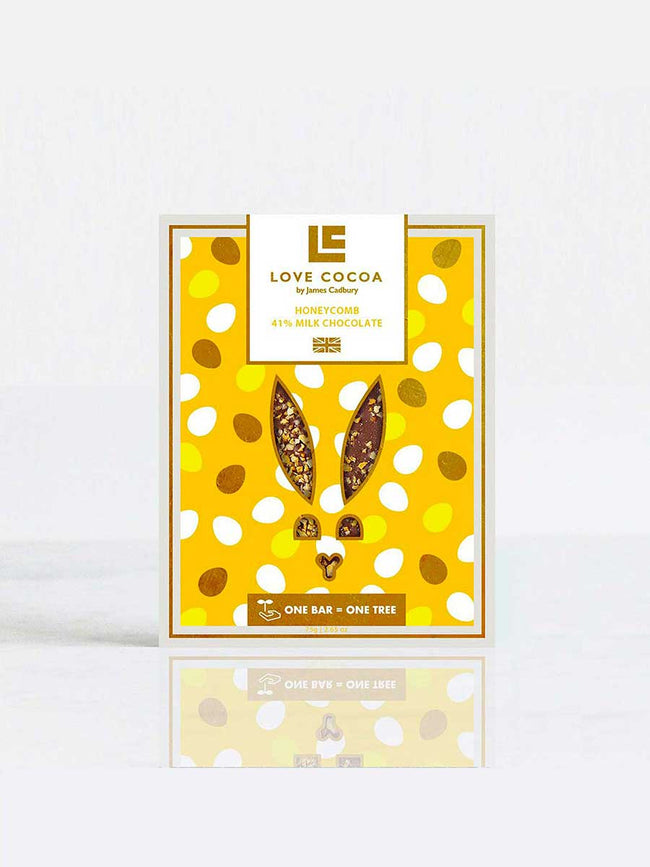 HONEYCOMB EASTER CHOCOLATE BAR