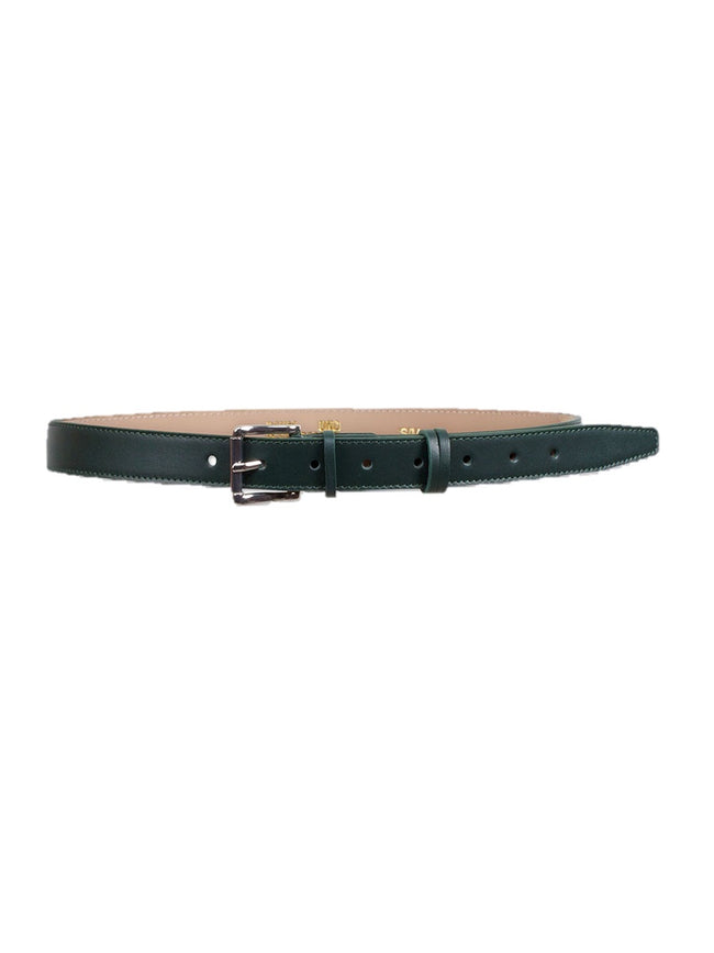 LAYNA LEATHER BELT - PINE GROVE GREEN