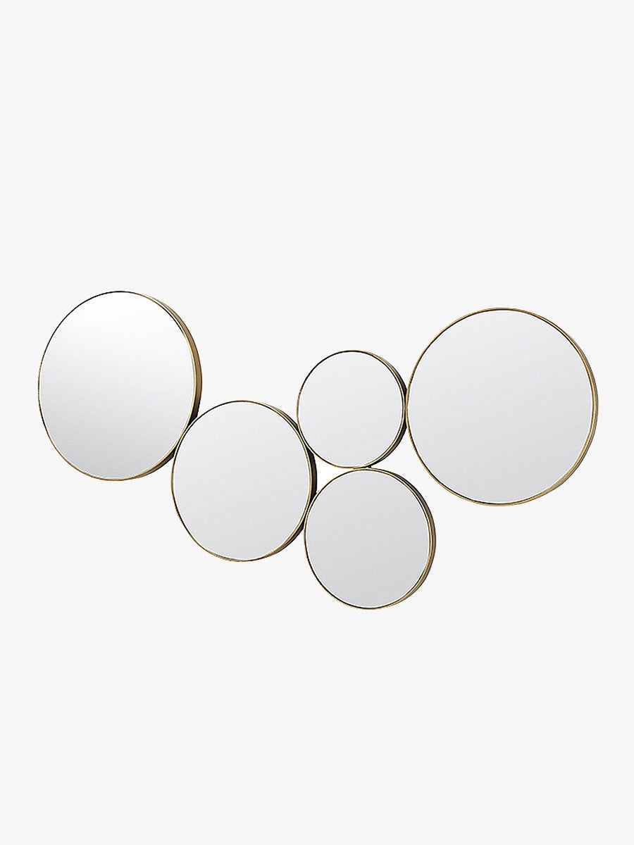 KUNST BRASS CIRCULAR ART MIRROR