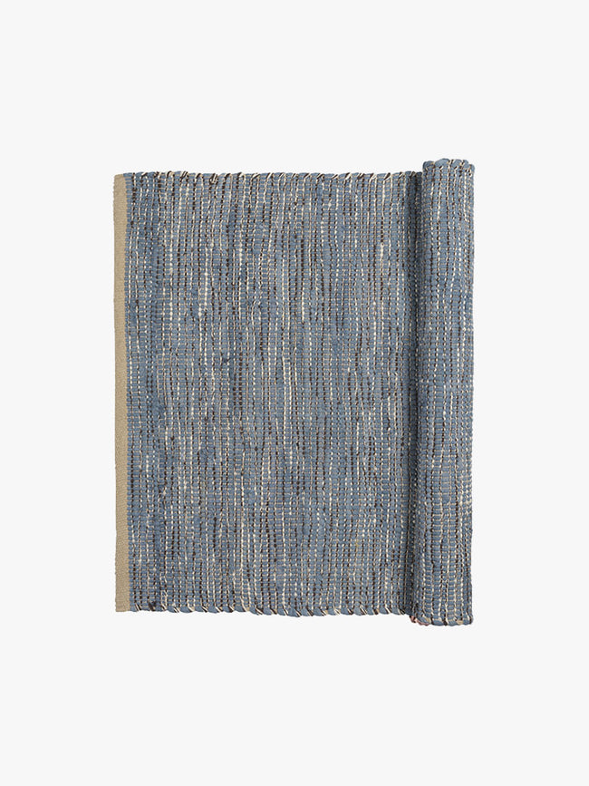SMALL MAGDA RUG - FLINT STONE BLUE