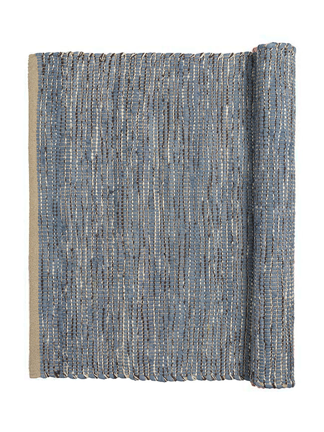 LARGE MAGDA RUG - FLINT STONE BLUE