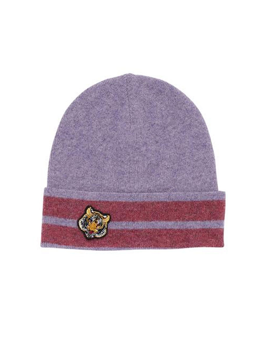 BEANIE HAT - HEATHER STRIPE