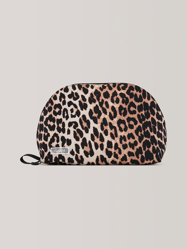 TOILETRY BAG - LEOPARD