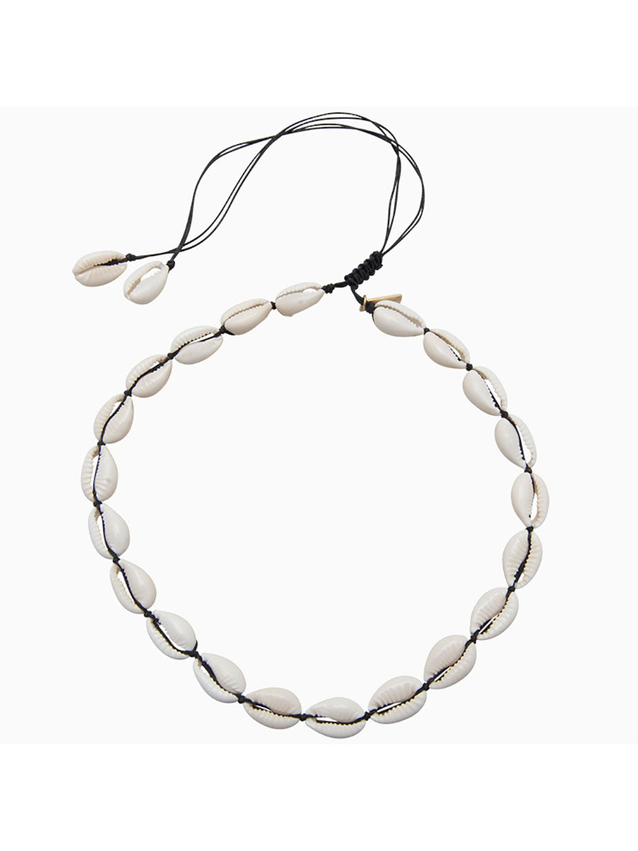 SHELL CHOKER - BLACK
