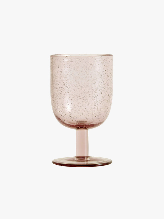 MAROC WINE GLASS - LIGHT PINK