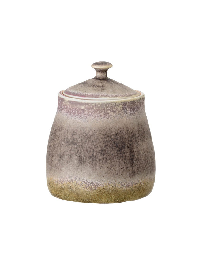 ALBA STONE SUGAR BOWL - MULTI BEIGE