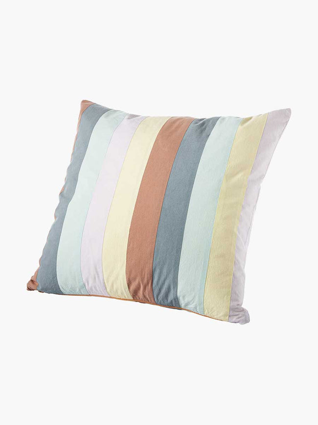 AGNES PATCHWORK CUSHION - MULTICOLOUR