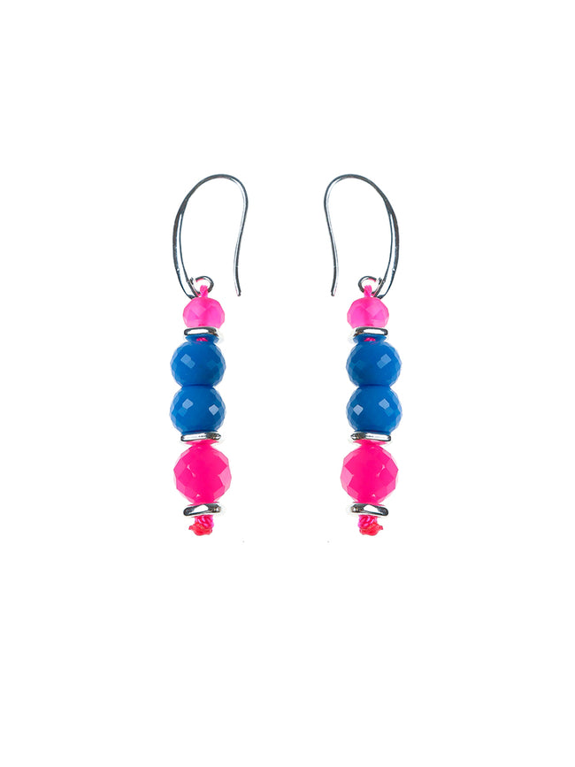 AZURI BEADED DROP EARRINGS