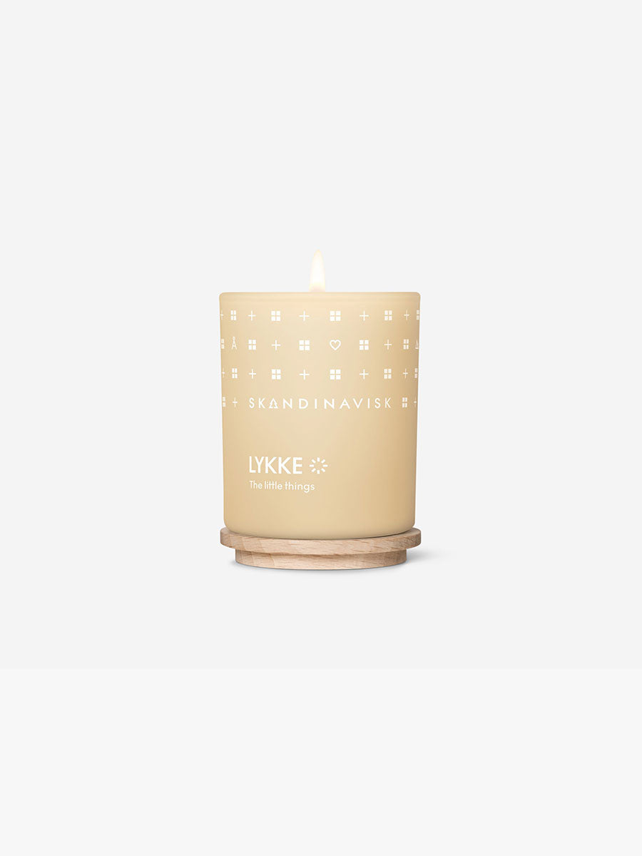 MINI SCENTED CANDLE - LYKKE