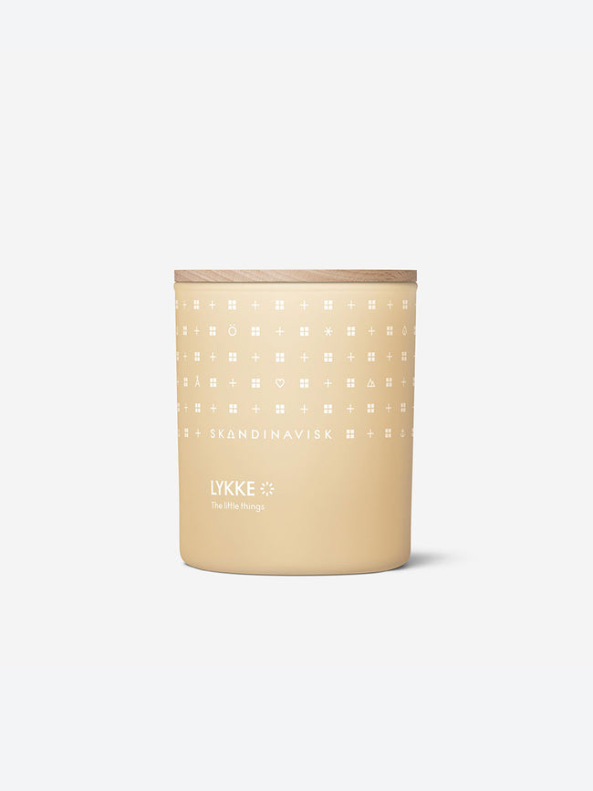 SCENTED CANDLE - LYKKE
