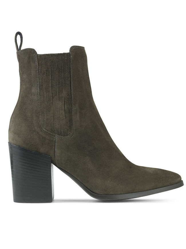 WESTERN BOOT - OLIVE