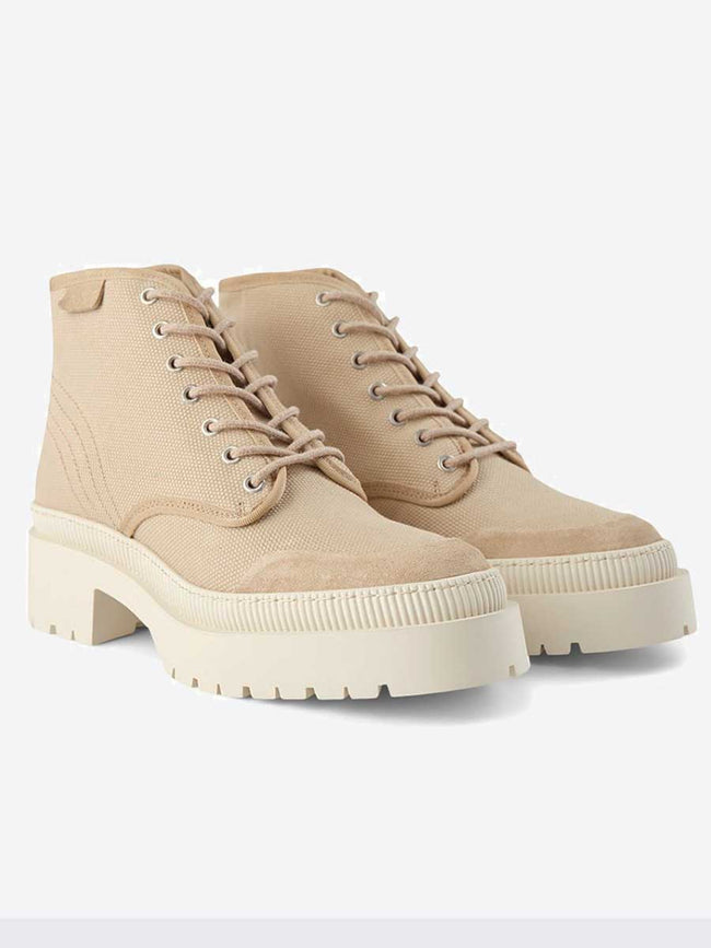 BEA LACE UP BOOT - SAND