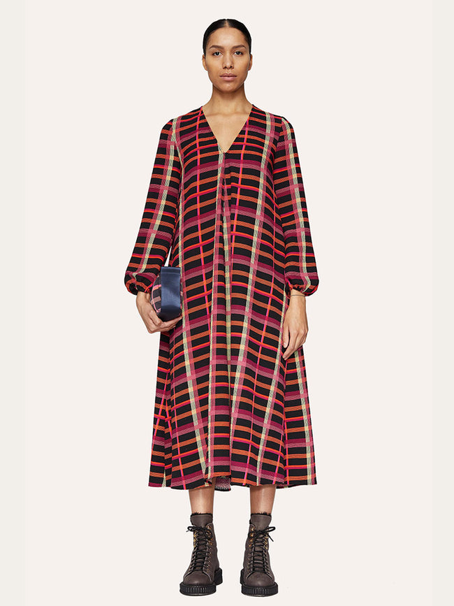 BROOKLYN OVERSIZED DRESS - PLAID