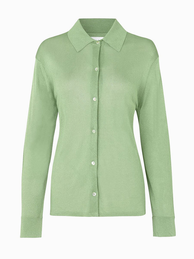 CAREY SHIRT - MUGGET GREEN