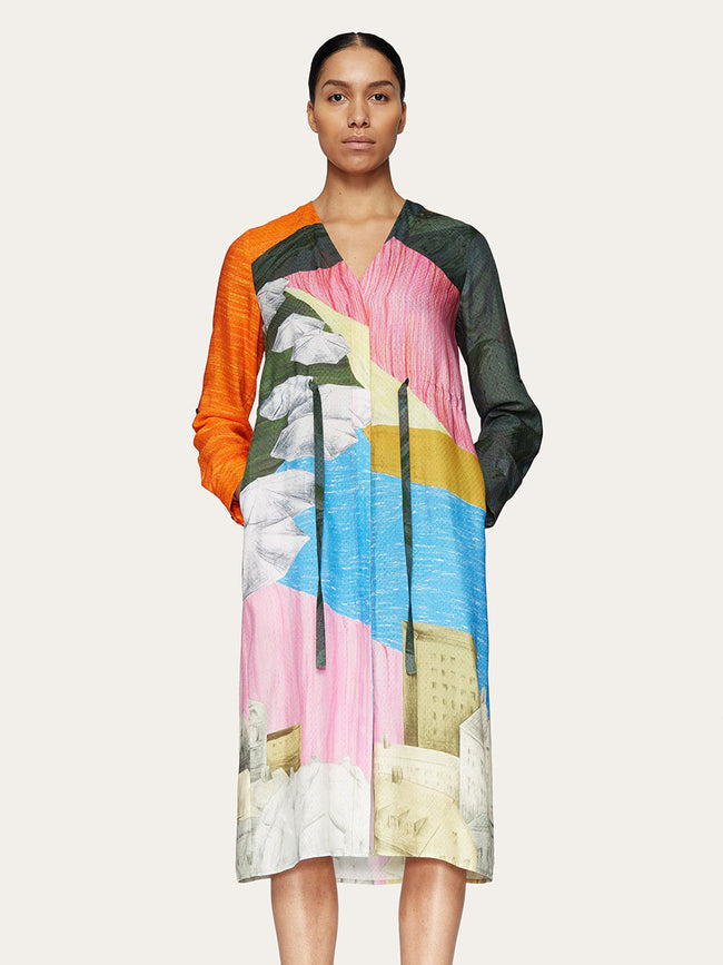 CAMILLA DRESS - LANDSCAPE