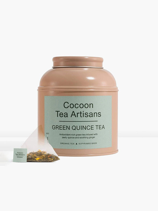 TEA CAN - GREEN QUINCE