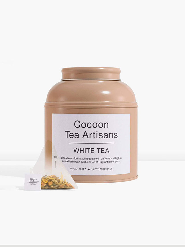 TEA CAN - WHITE