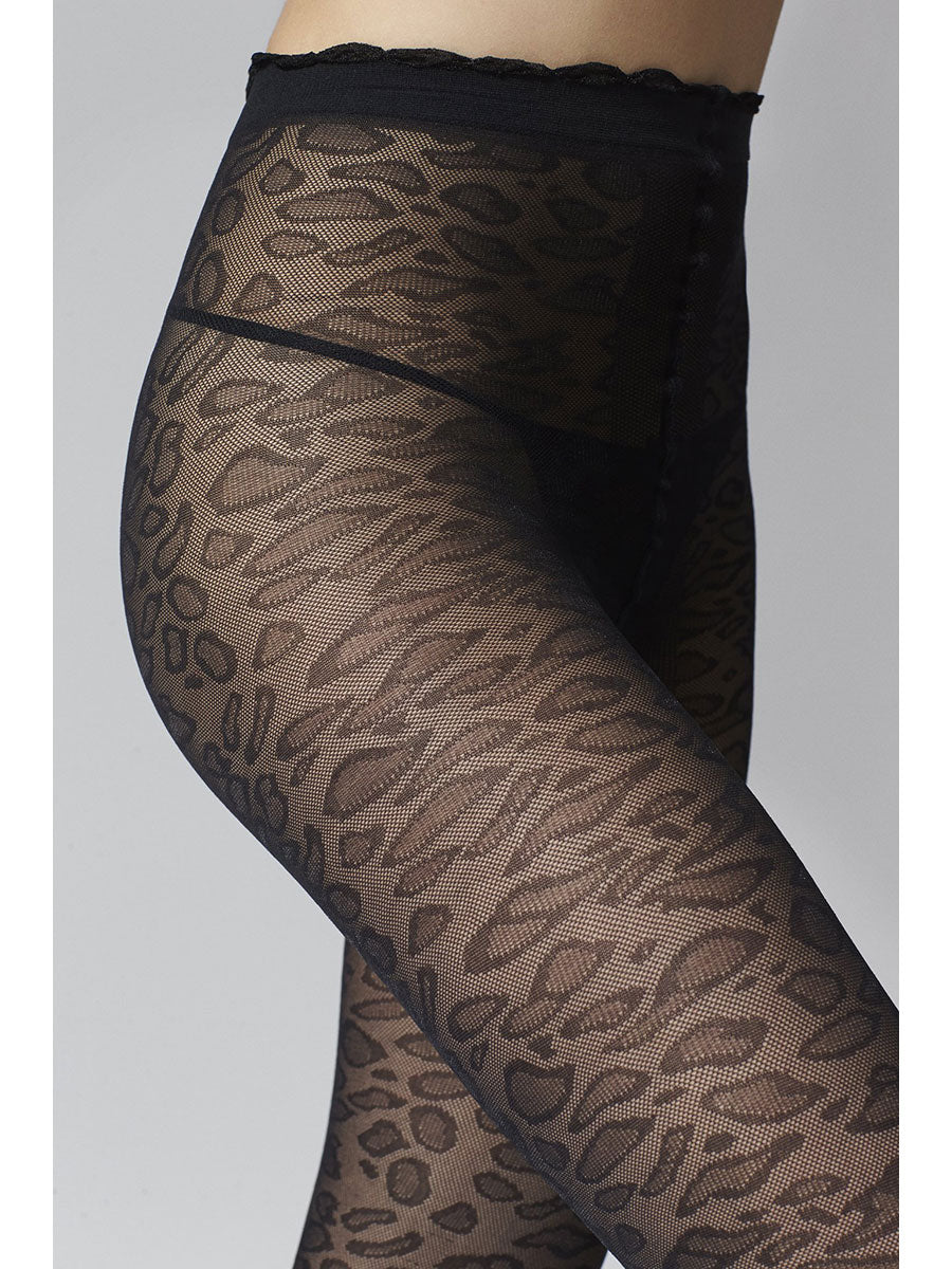 SARAH LEOPARD TIGHTS