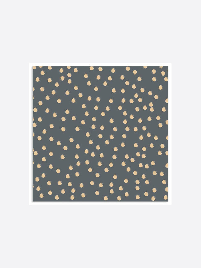 DOTTY NAPKINS - GOLD ANTHRAZIT