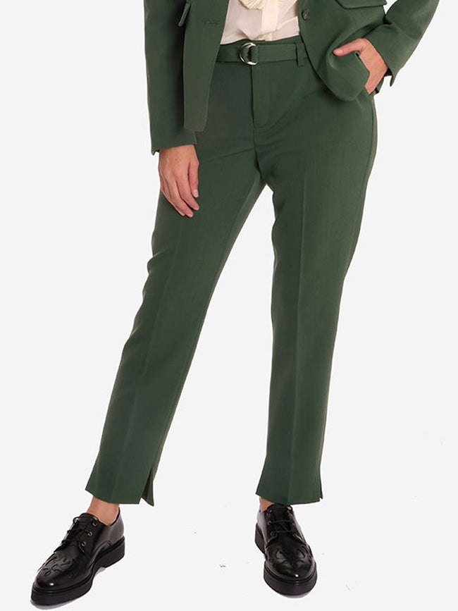 NICOLE TROUSERS - GREEN