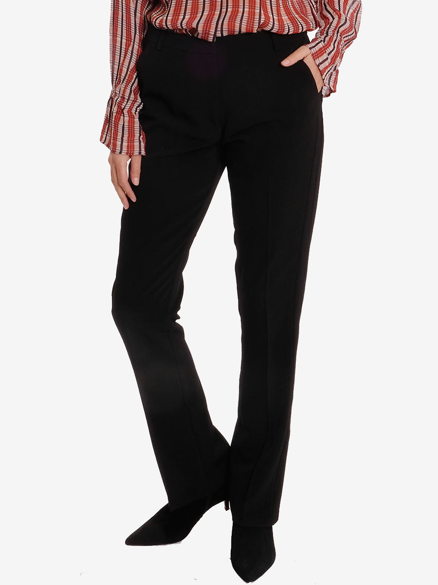 HEIDA TROUSERS - BLACK