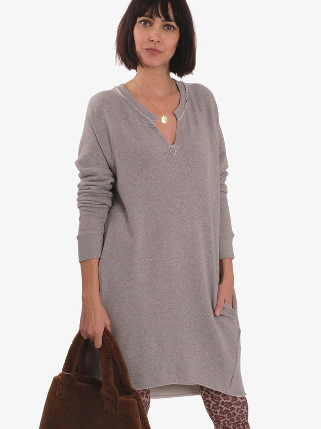 AMIGO LONG SWEATSHIRT - GREY