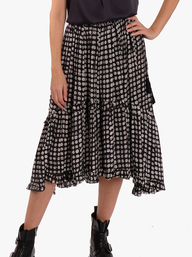 LUCY SKIRT - BLACK