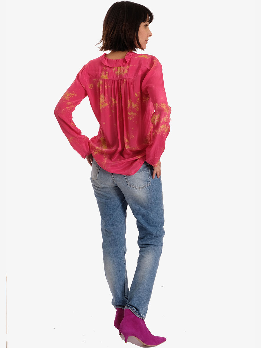 PEACE BLOUSE - PINK