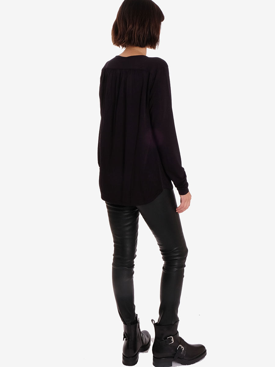 MOLLY BLOUSE - BLACK