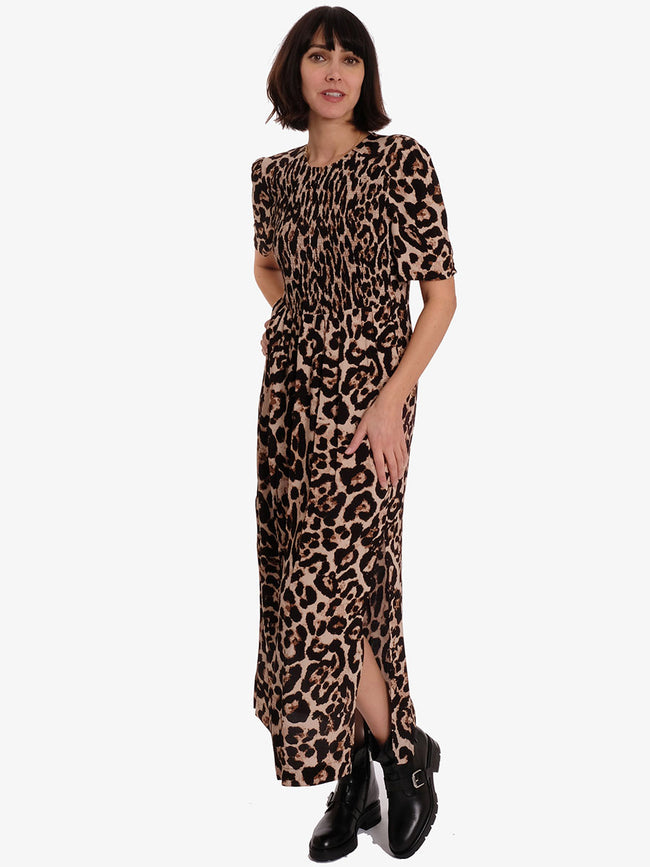 ADAMARIS DRESS -WILD LEOPARD