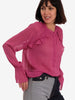 CLASSO BLOUSE - BEET RED