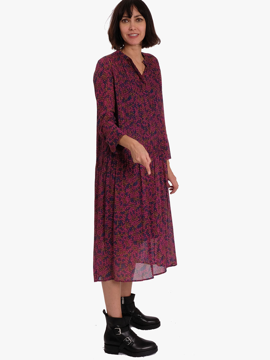 ELM SHIRT DRESS - MOONLIGHT FLOWER