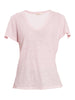 ANY2 SCOOP NECK TSHIRT - PINK