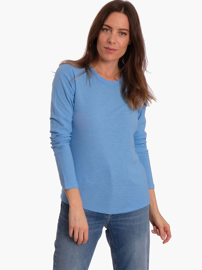 ANY3 LONG SLEEVE CREW NECK T - LITTLE BOY BLUE