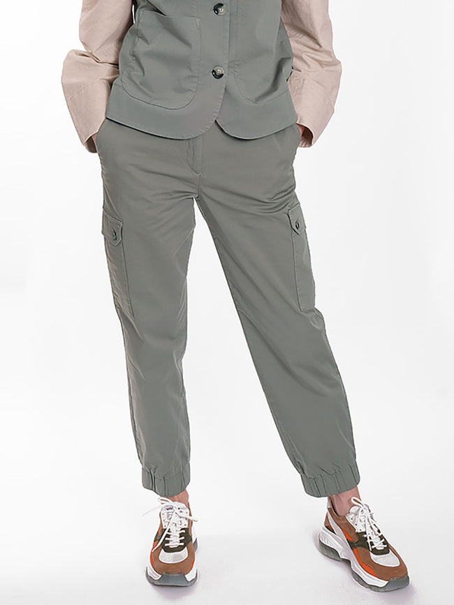 NAJAH CARGO TROUSERS - LIGHT KHAKI