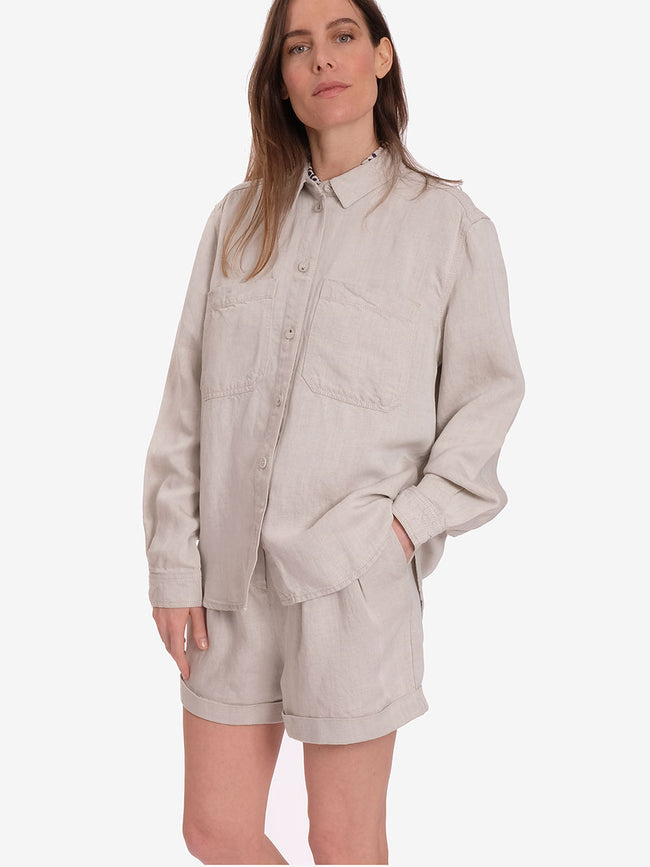 MANZ SHIRT - WARM WHITE