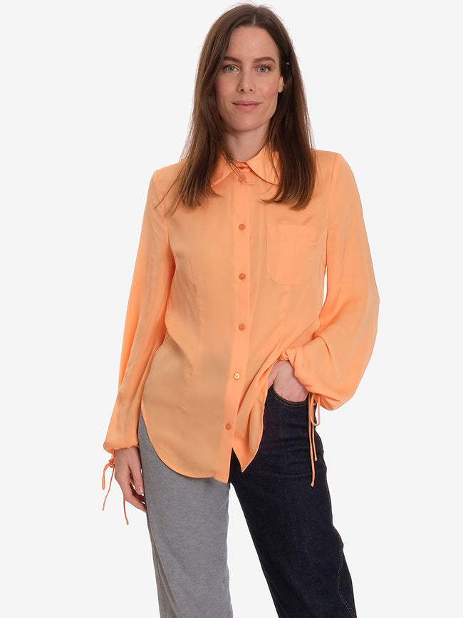 MARIQUITA SHIRT - MOCK ORANGE