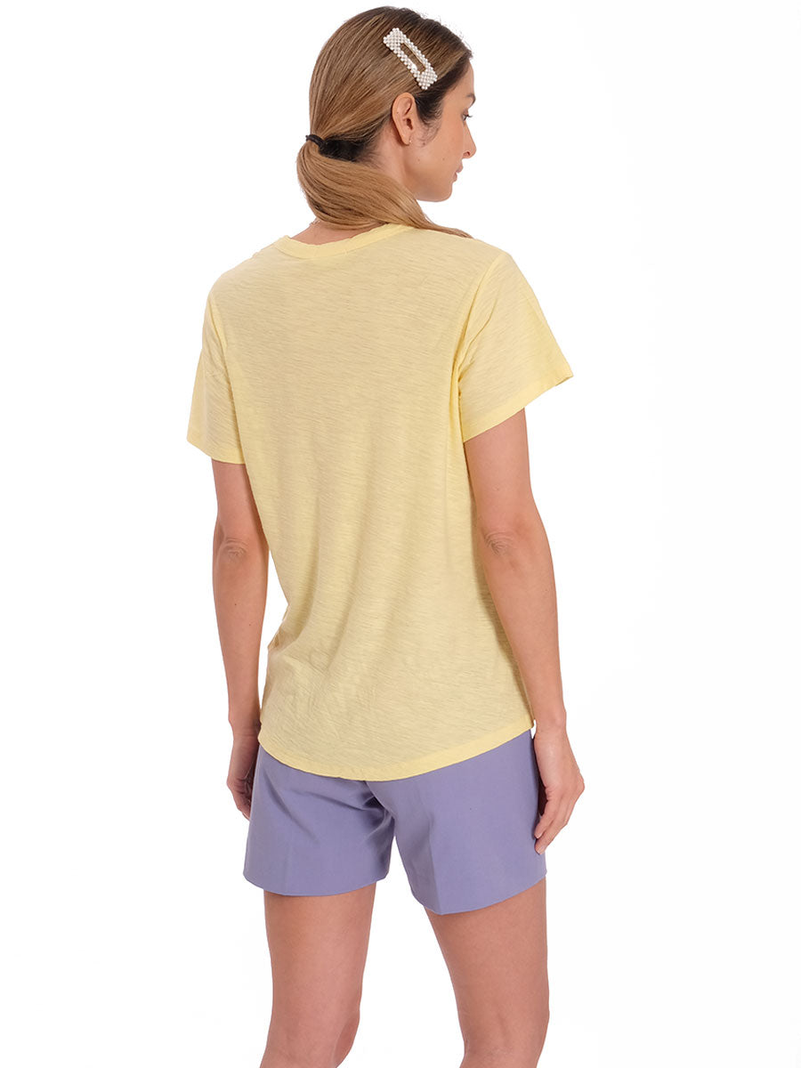 ANY1 CREW NECK TSHIRT - SUNSHINE YELLOW