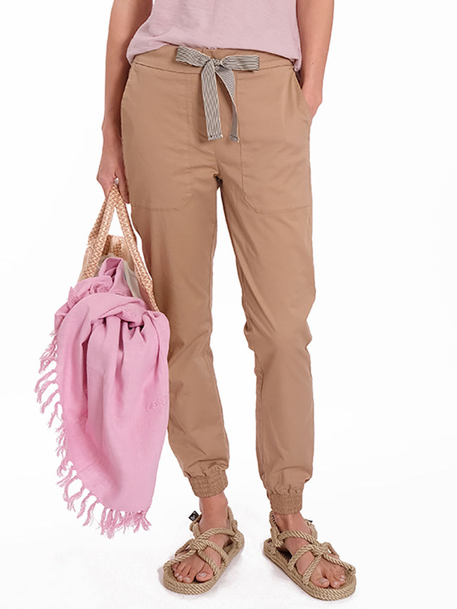FIORA BELTED PANTS