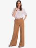 SMALLA BELTED TROUSERS - DUNE BEIGE